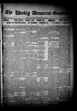 The Weekly Democrat-Gazette (McKinney, Tex.), Vol. 26, No. 2, Ed. 1 Thursday, February 11, 1909