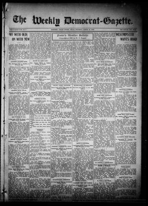 The Weekly Democrat-Gazette (McKinney, Tex.), Vol. 26, No. 7, Ed. 1 Thursday, March 18, 1909