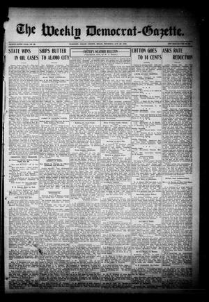 Primary view of object titled 'The Weekly Democrat-Gazette (McKinney, Tex.), Vol. 26, No. 39, Ed. 1 Thursday, October 28, 1909'.