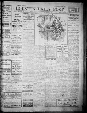 Primary view of object titled 'The Houston Daily Post (Houston, Tex.), Vol. XVIITH YEAR, No. 271, Ed. 1, Tuesday, December 31, 1901'.