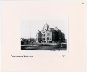 Primary view of object titled '[Historic Fort Worth High School]'.