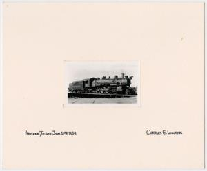 Primary view of object titled '[Abilene & Southern Train #20]'.