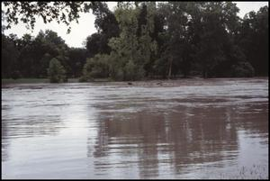 Primary view of object titled '[Guadalupe River Water Rising]'.