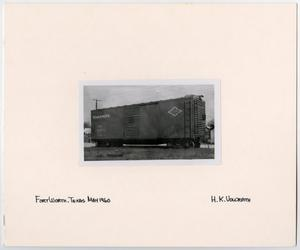 Primary view of object titled '[T&P Box Car]'.