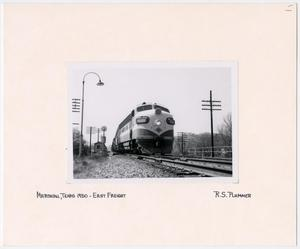 Primary view of object titled '[T&P Train #1505]'.
