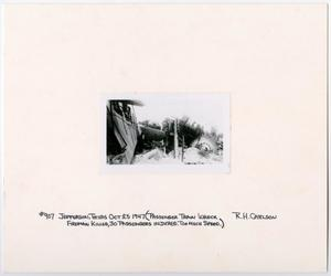 Primary view of object titled '[Train #907 Wrecked in Jefferson, Texas]'.