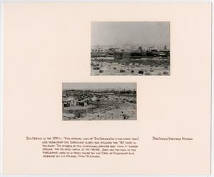 Primary view of object titled '[Landscape View of Big Spring, Texas]'.
