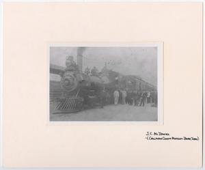 Primary view of object titled '[Train #60 Waiting to be Boarded 2]'.