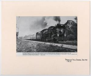 Primary view of object titled '[SR Train #610]'.