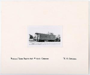 Primary view of object titled '[Caboose #13121 in Mission, Texas]'.