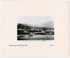 Primary view of object titled '[Landscape View of El Paso, Texas]'.