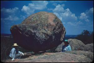 Primary view of object titled '[Balanced Rock on Bear Mountain]'.