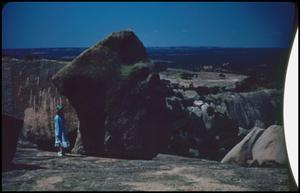 Primary view of object titled '[Boulders on Enchanted Rock]'.