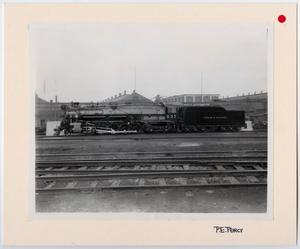 Primary view of object titled '[T&P Train #637]'.