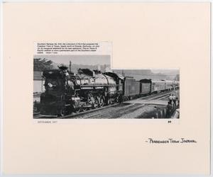 Primary view of object titled '[Southern Railway Train #610]'.