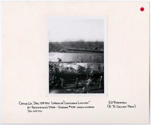 "Primary view of object titled '[Wreck of the ""Louisiana Limited""]'."