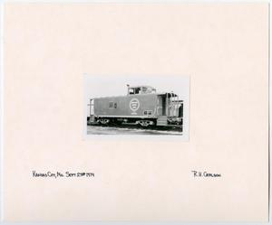 Primary view of object titled '[Missouri Pacific Caboose]'.