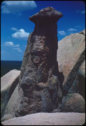 Primary view of object titled '[Column on Enchanted Rock]'.