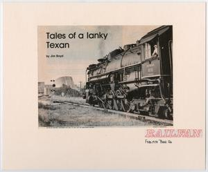 Primary view of object titled '[Tales of a Lanky Texan]'.
