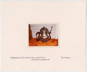Primary view of object titled '[T&P Train #700 Bell]'.