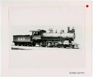 Primary view of object titled '[Train #243 in Marshall, Texas 2]'.