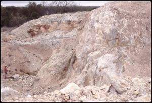 Primary view of object titled '[Pegmatite in Badu Quarry]'.