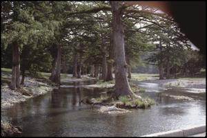 Primary view of object titled '[Guadalupe River Low Water Channel at North Fork 6]'.