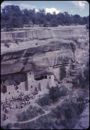 Primary view of object titled '[Cliff Palace in Mesa Verde National Park]'.