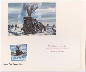 Primary view of object titled '[T&P Christmas Card]'.