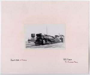 Primary view of object titled '[T&P Train #635]'.