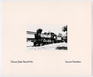 Primary view of object titled '[Train #20 in Dallas, Texas]'.