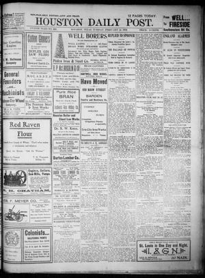 Primary view of object titled 'The Houston Daily Post (Houston, Tex.), Vol. XVIIITH YEAR, No. 326, Ed. 1, Tuesday, February 24, 1903'.