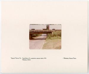 Primary view of object titled '[T&P Railway Overpass in Marshall, Texas]'.