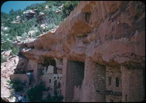 Primary view of object titled '[Cliff Dwelllings at Manitou Springs]'.