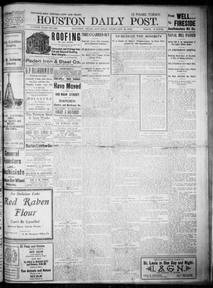 Primary view of object titled 'The Houston Daily Post (Houston, Tex.), Vol. XVIIITH YEAR, No. 330, Ed. 1, Saturday, February 28, 1903'.