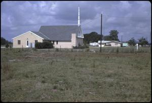 Primary view of object titled '[St. Mark Lutheran Church and Parsonage]'.