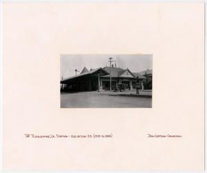 Primary view of object titled '[T&P Station in Plaquemine, Louisiana]'.
