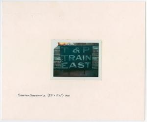 Primary view of object titled '[T&P Sign in Shreveport, Louisiana]'.