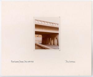 Primary view of object titled '[T&P Railway Overpass]'.