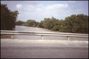 Primary view of object titled '[Guadalupe River Flood at Highway 46]'.