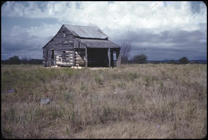Pioneer Log Cabin] The Portal to Texas History