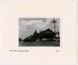 Primary view of object titled '[T&P Train Station in Arlington, Texas]'.
