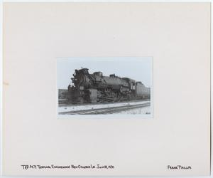Primary view of object titled '[T&P Train #805 in New Orleans, Louisiana]'.