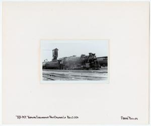 Primary view of object titled '[T&P Train #807 in New Orleans, Louisiana]'.
