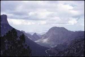 Primary view of object titled '[Lost Mine Trail View]'.