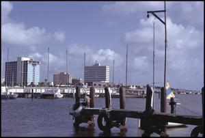 Primary view of object titled '[Corpus Christi Harbor]'.