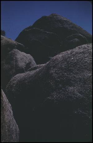 Primary view of object titled '[Boulders on Bear Mountain]'.
