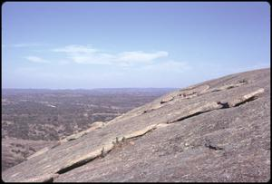 Primary view of object titled '[Exfoliation on Slope of Enchanted Rock]'.