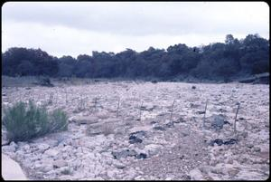 Primary view of object titled '[Guadalupe River Dry Channel]'.