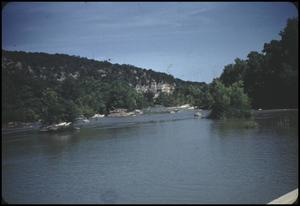 Primary view of object titled '[Guadalupe River in Comal County]'.